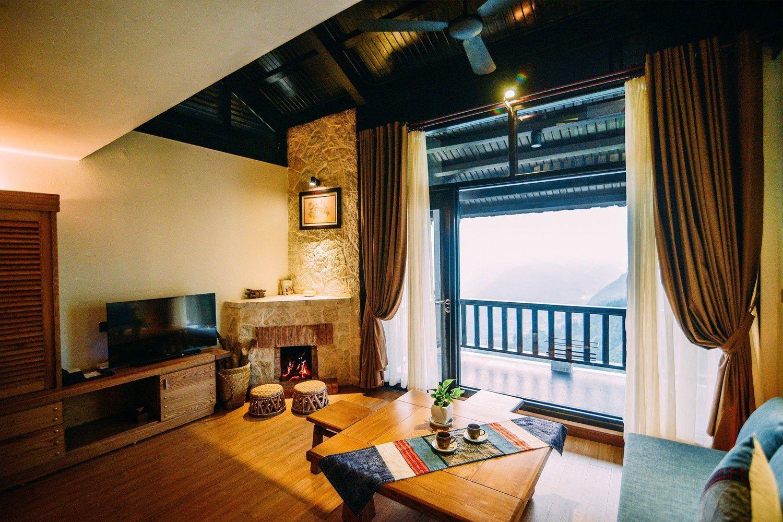 Phòng ngủ ở Sapa Jade Hill Resort & Spa