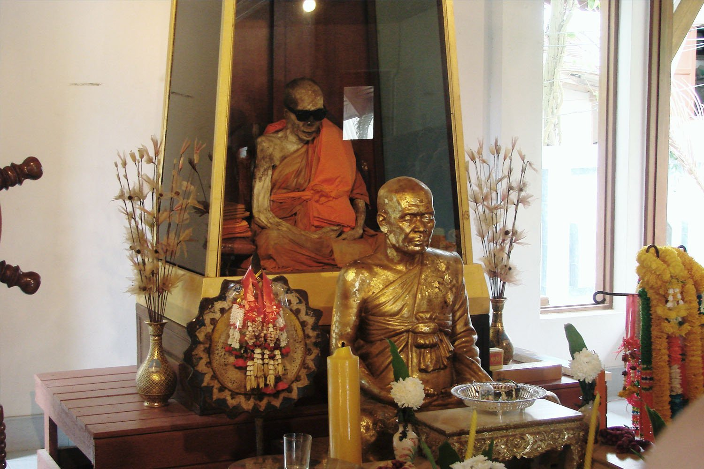Xác ướp thầy tu ở Wat Khunaram