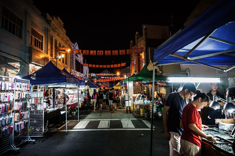 Chợ đêm Phố Jonker (Jonker Walk), Melaka