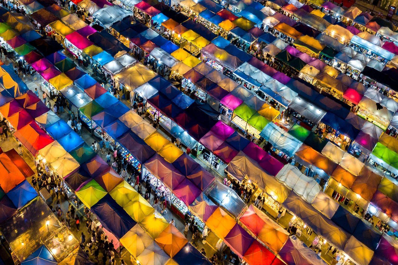 Flashlight Market (Khlong Thom)