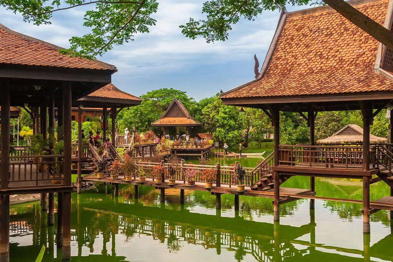Khám phá Làng Văn hóa truyền thống Campuchia