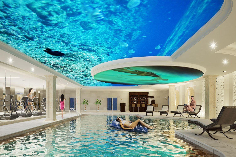Bể bơi FLC Vĩnh Thịnh
