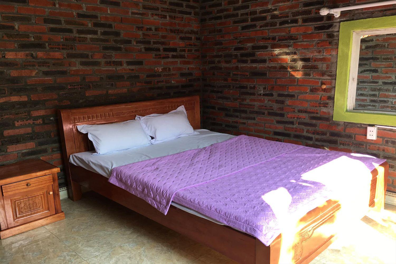 Phòng ngủ ở Cat Ba Rustic Homestay