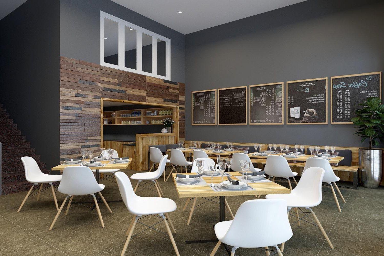 Không gian sinh hoạt chung và khu ăn uống của Mona Homestay
