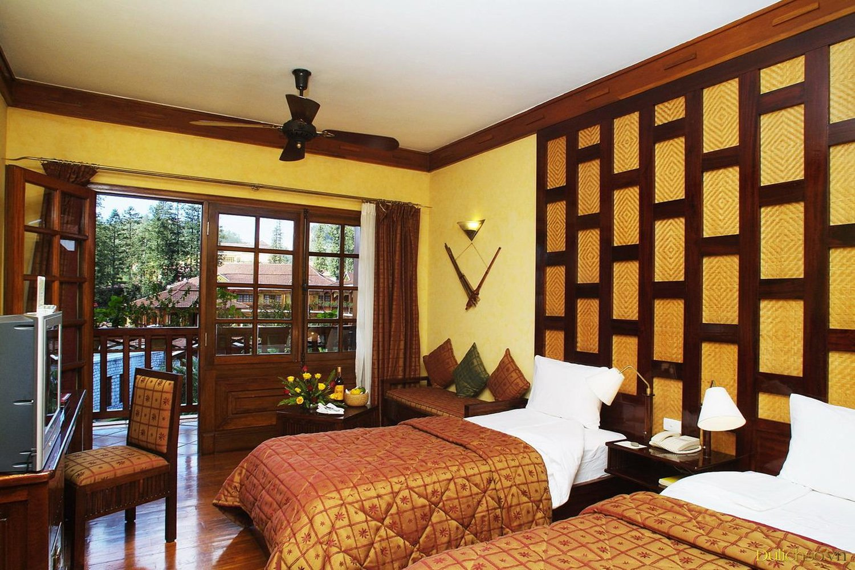 Phòng ban công của Victoria Sapa Resort & Spa