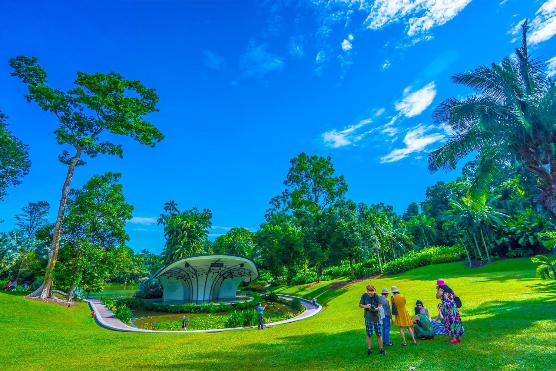 Tham quan khu vực Vườn ươm đầu tiên của Vườn bách thảo Singapore