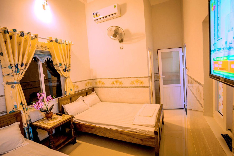 Phòng ngủ tại Motel Thuyền & Biển