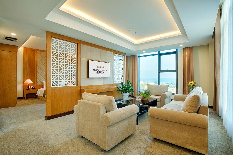 Khách sạn Mường Thanh Lý Sơn là sự hài hòa giữa không gian thiên nhiên tươi đẹp