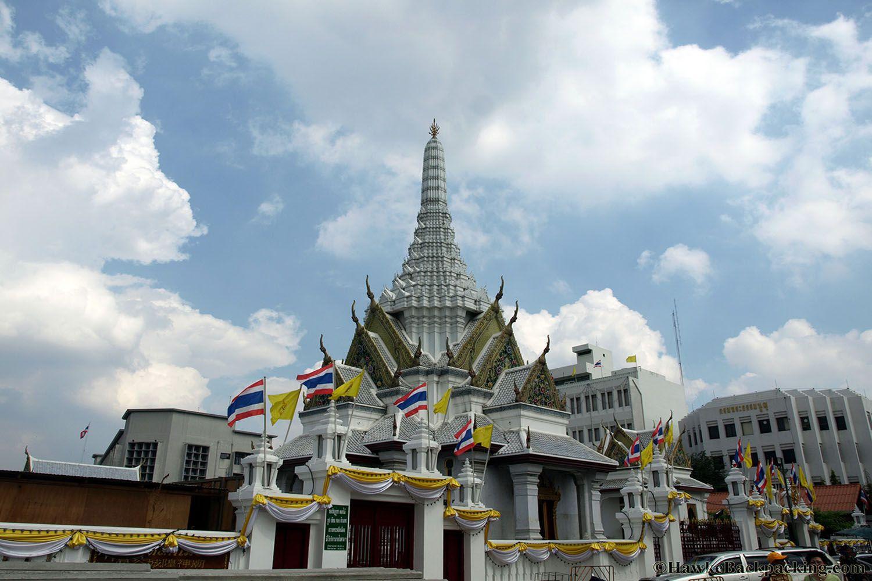 Đền trụ cột thành phố Bangkok ở Bangkok