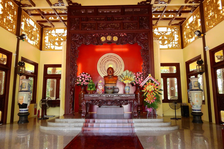 Phòng tưởng niệm Chủ tịch Tôn Đức Thắng
