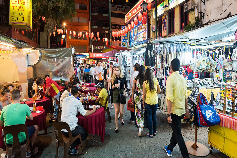 Chợ đêm Klang Lama
