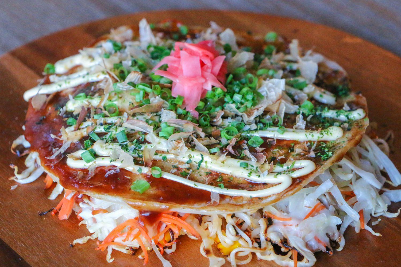 Okonomiyaki ở Hiroshima