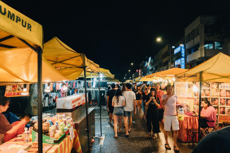 Pasar Malam Taman Connaught