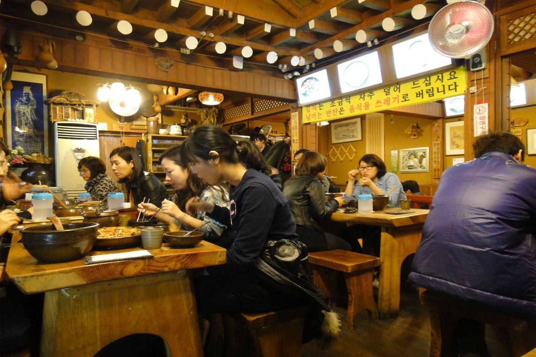 Nhà hàng Insadong Sujaebi