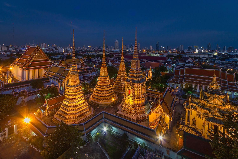 Kiến trúc đền Wat Pho