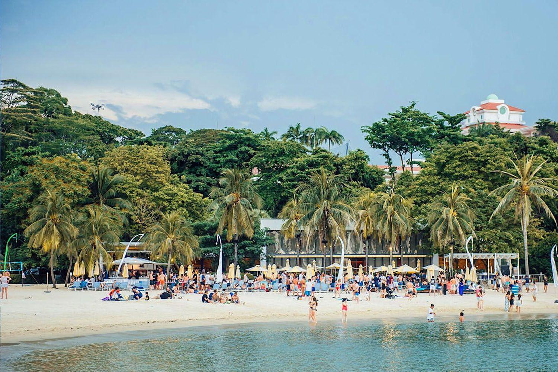 Du lịch biển Singapore
