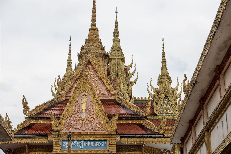 Khối kiến trúc của Chùa Khmer Munirensay
