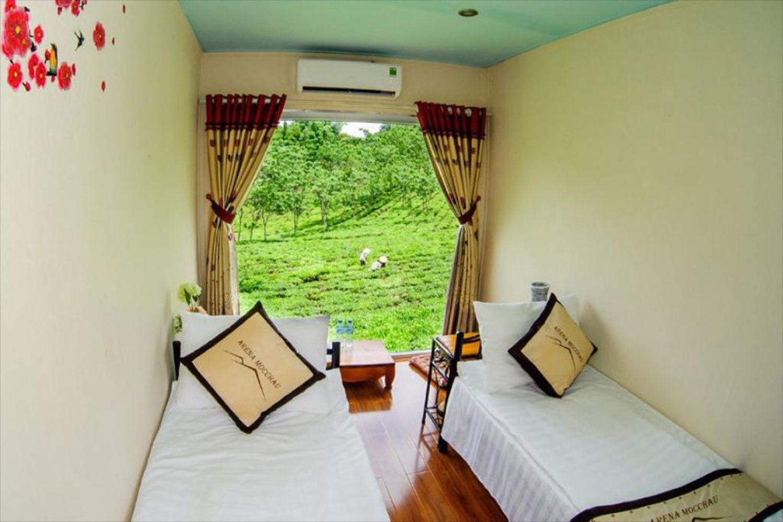 Phòng ngủ Mộc Châu Arena Village