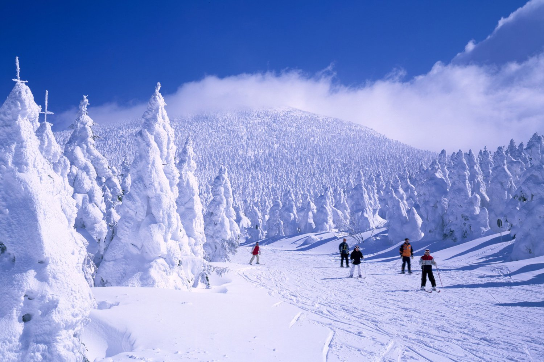Khu nghỉ dưỡng trượt tuyết Zao Onsen