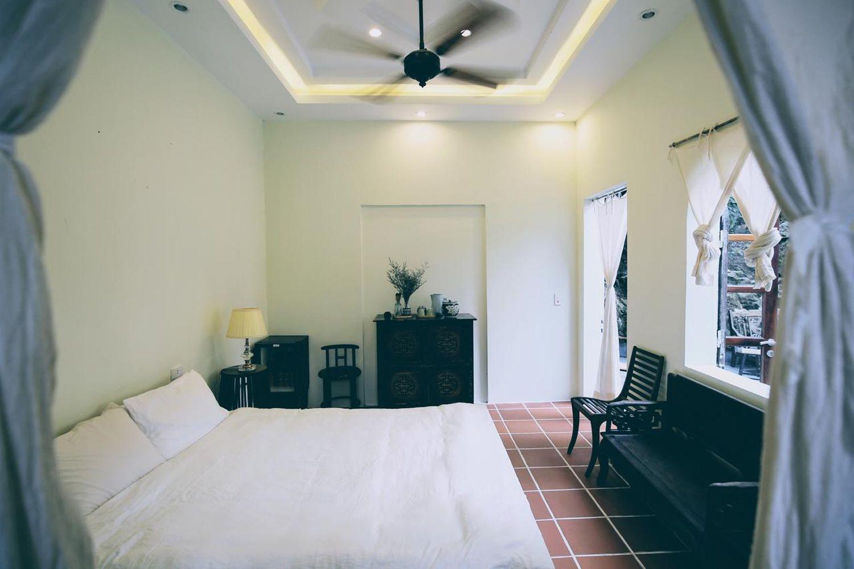 Phối màu tinh tế của các căn phòng ở Aroma House