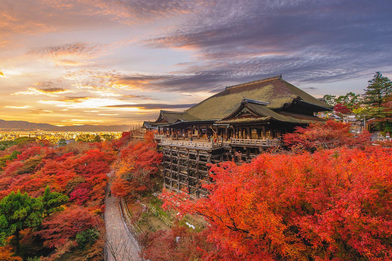 Chùa Kiyomizudera - Kyoto