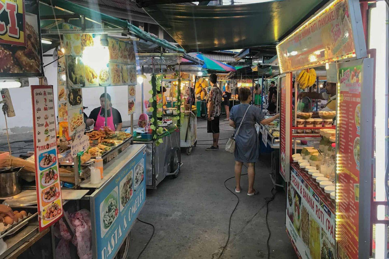 Món ăn ngon của Thái Lan tại chợ đêm