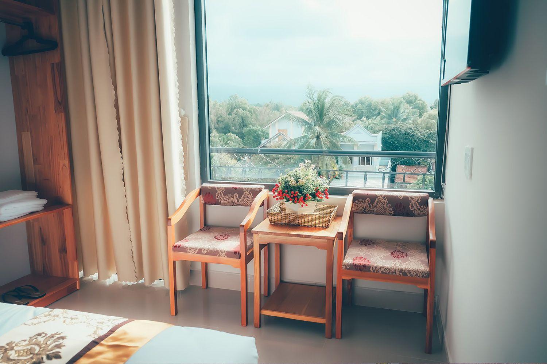 View từ phòng của Mini Hotel Tây Thi