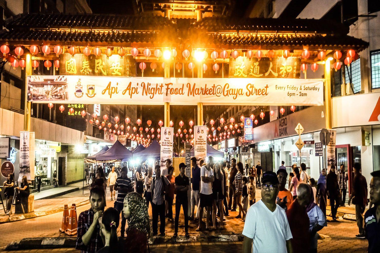 Phiên chợ đường phố chủ nhật Gaya tại Kota Kinabalu