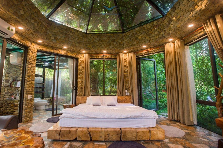Phòng nghỉ dưỡng gần gũi thiên nhiên