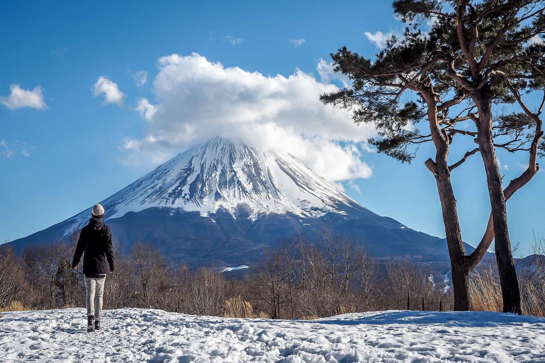 Thực hiện một chuyến đi trong ngày đến núi Phú Sĩ