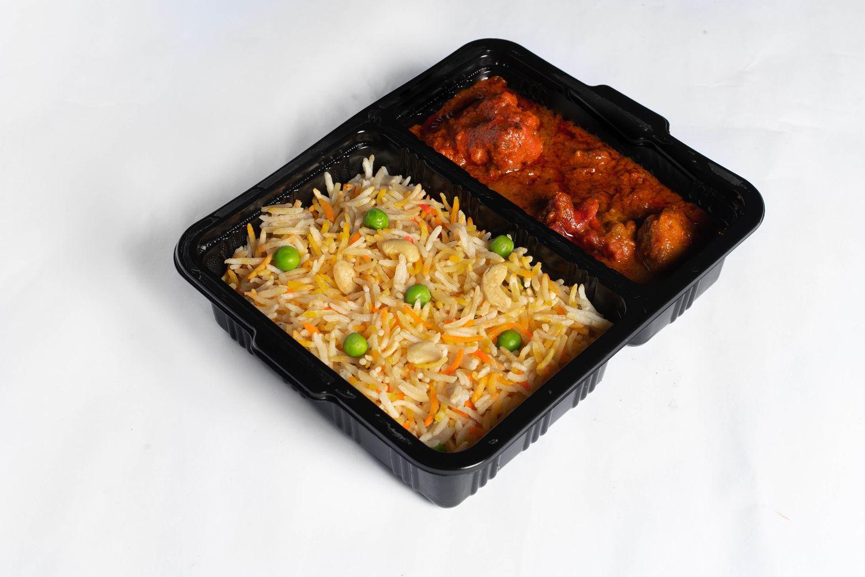 Món Butter Chicken Briyani Rice