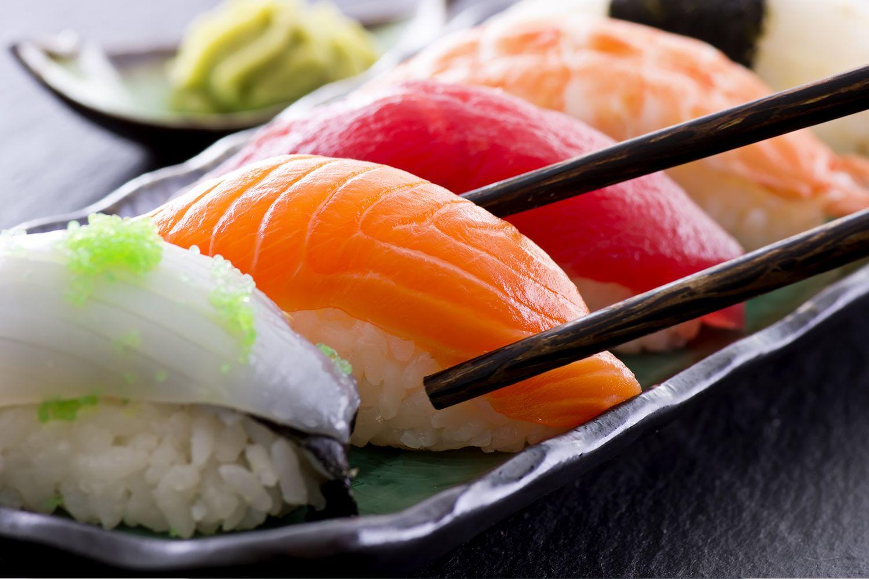 Nigiri-sushi ở Tokyo