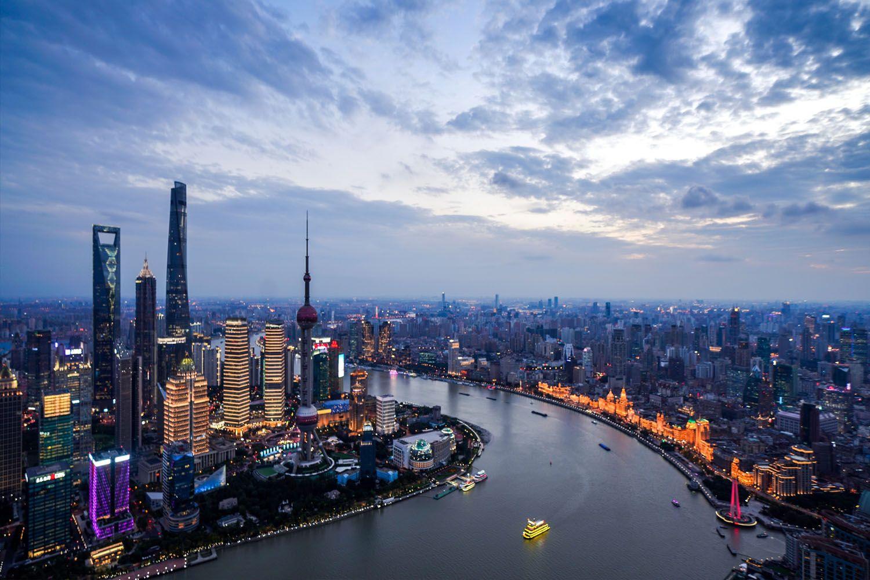 Thượng Hải có các thành phố trong thành phố