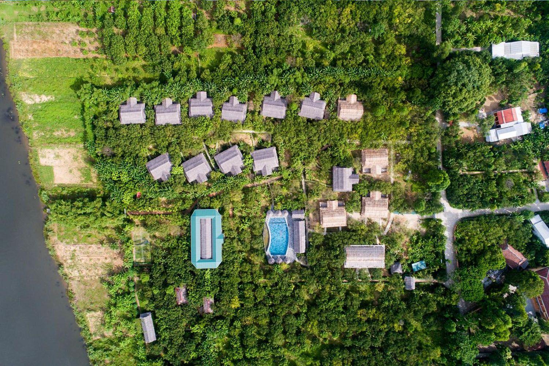 Hue Ecolodge nằm ẩn mình trong một ngôi làng cổ kính