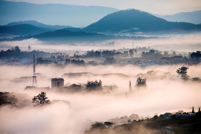 Săn mây tại Trại Mát