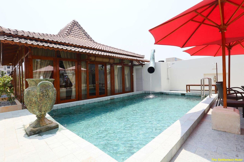 The Settlement Hotel, Melaka có bể bơi