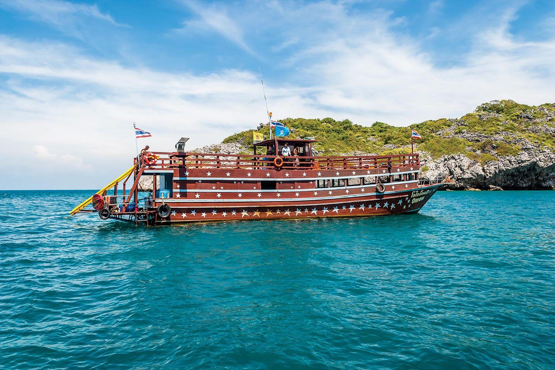 Chuyến du lịch bằng thuyền