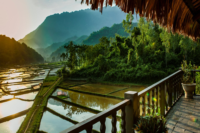 Cảnh đẹp tại Mai Châu Ecolodge