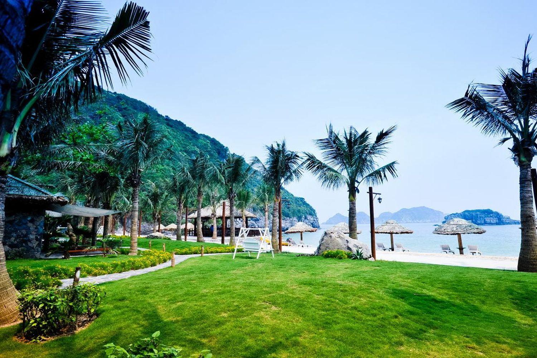 Cảnh đẹp nhìn từ Cát Bà Resort