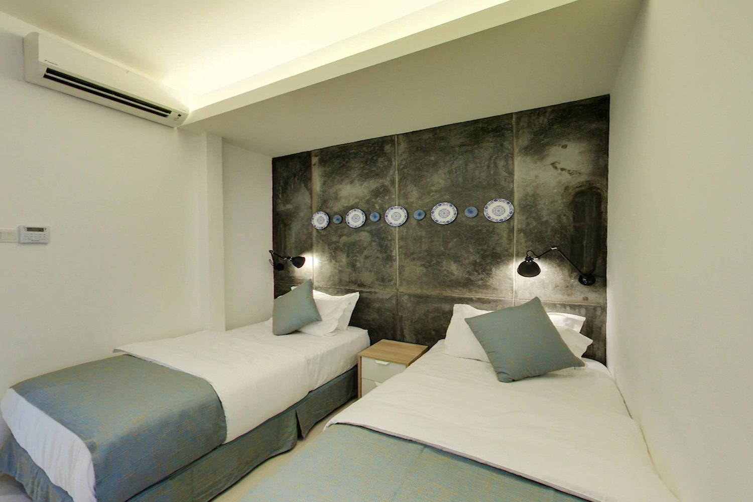 Phòng ngủ ở  Modern Cave Boutique Stay, Melaka