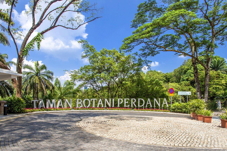 Thư giãn tại vườn Bách thảo Perdana