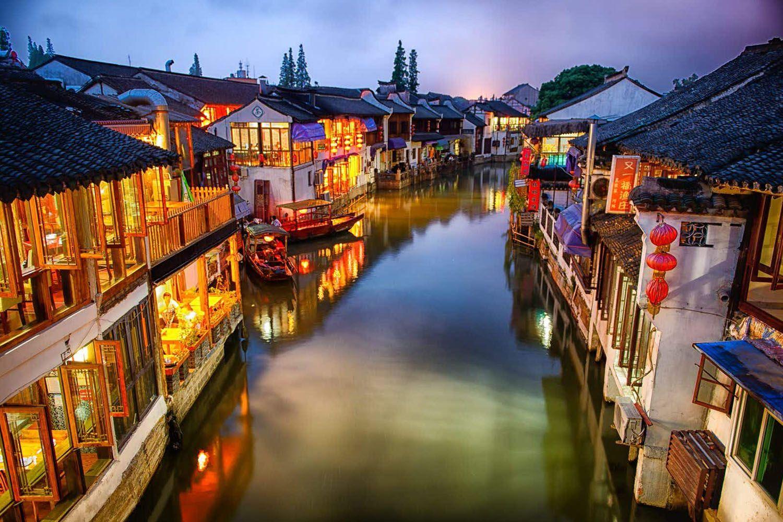 Thượng Hải được bao quanh bởi nhiều thị trấn nước