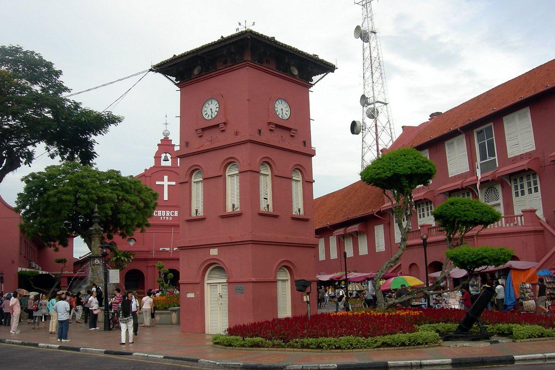 Tháp đồng hồ Tang Beng Swee ở Melaka