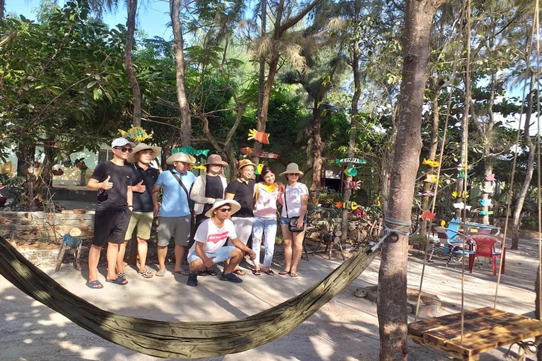 Không gian xanh của Hoàng Sa Resort