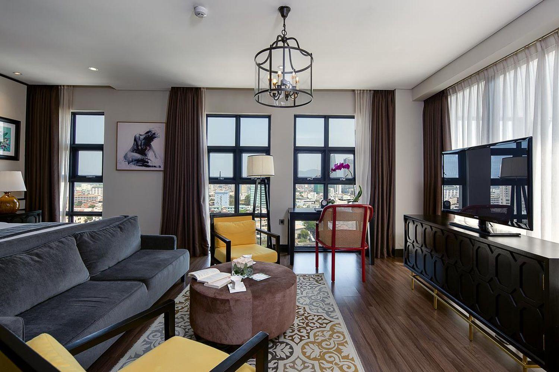 Phòng ốc của Sanouva Danang Hotel
