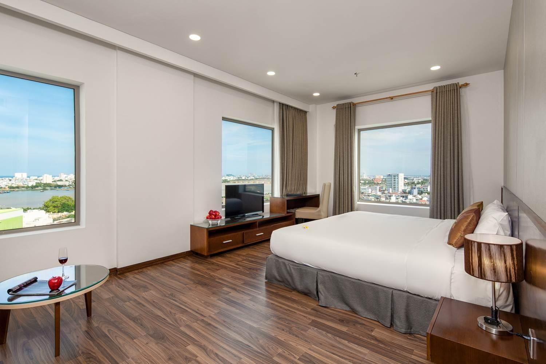 Phòng ngủ của Mitisa Hotel Danang