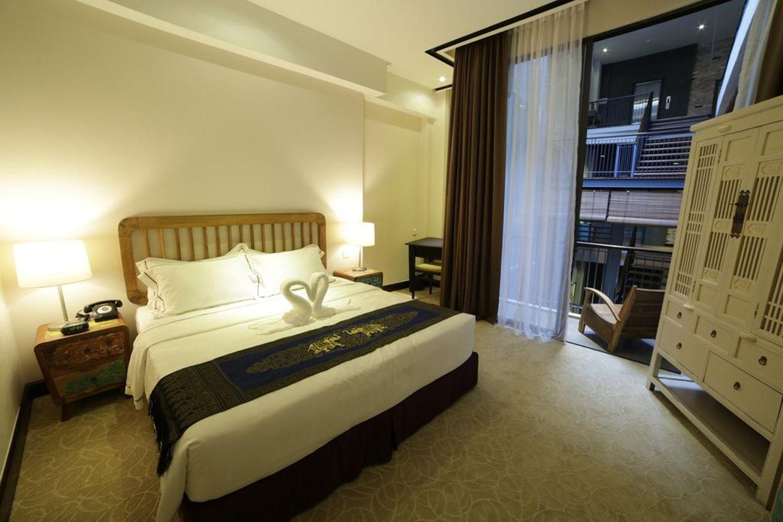 Phòng ngủ tại 1825 Gallery Hotel, Malacca
