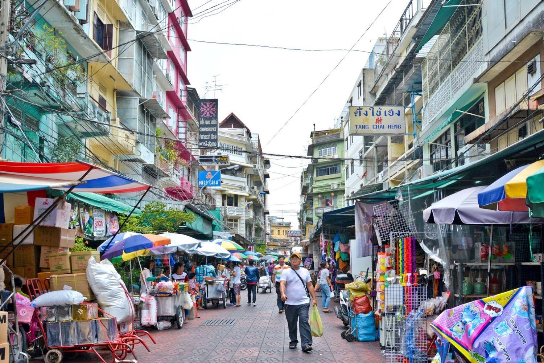 Chợ ngõ Sampeng