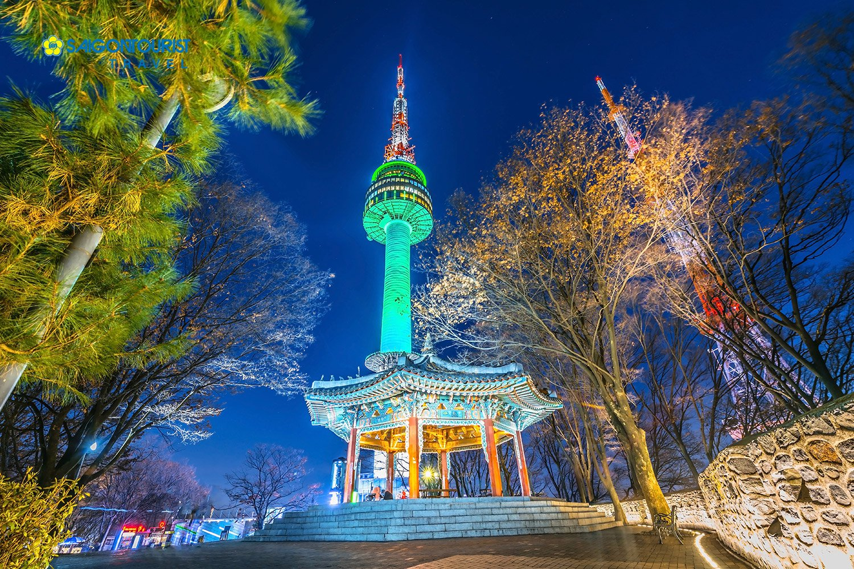 Tới Tháp N Seoul