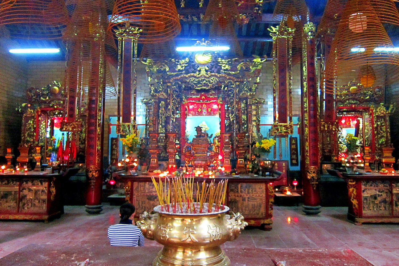 Kiến trúc đầy độc đáo của ngôi chùa